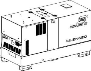 Сварочный агрегат KHM 595 PS с приводом от ДВС